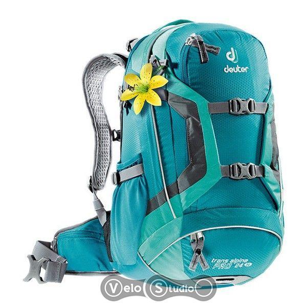Рюкзак Deuter Trans Alpine PRO 24 SL бирюзовый