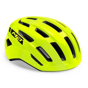 Шлем MET Miles Fluo Yellow Glossy S/M