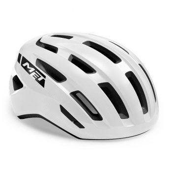 Шлем MET Miles White Glossy M/L