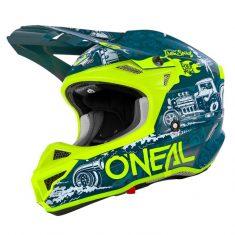 Шлем ONeal 5SRS Polyacrylite HR Blue/Neon Yellow