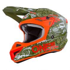 Шлем ONeal 5SRS Polyacrylite HR Green/Orange