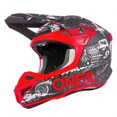 Шлем O`Neal 5SRS Polyacrylite HR Black/Red