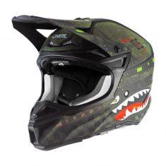 Шлем ONeal 5SRS Polyacrylite Warhawk Black/Green