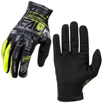 Вело перчатки ONeal Matrix Glove Ride Black Neon Yellow
