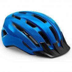 Вело шлем MET Downtown Blue Glossy