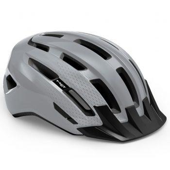 Вело шлем MET Downtown Gray Glossy