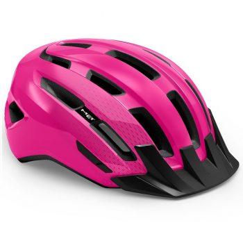 Вело шлем MET Downtown Pink Glossy