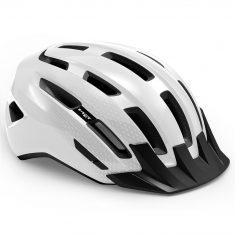 Вело шлем MET Downtown White Glossy