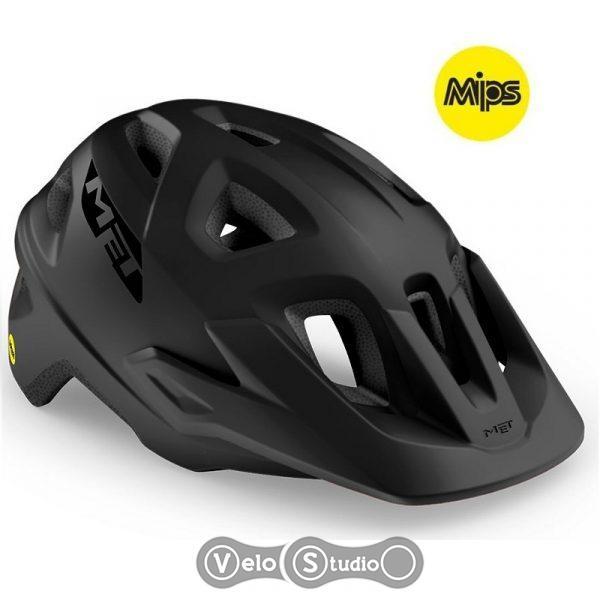 Вело шлем MET Echo MIPS Black