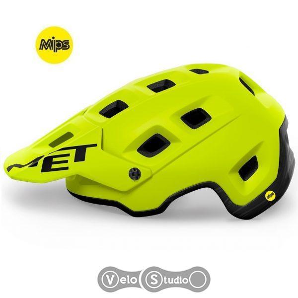 Вело шлем MET Terranova MIPS Lime Green