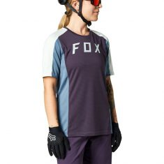 Джерси FOX Defend Womens Jersey SS Dark Purple XS