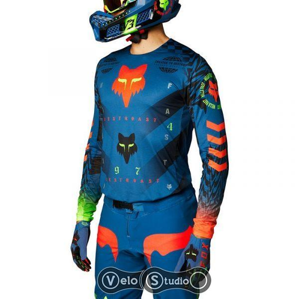 Джерси FOX Flexair Mawlr Jersey Dusty Blue размер M