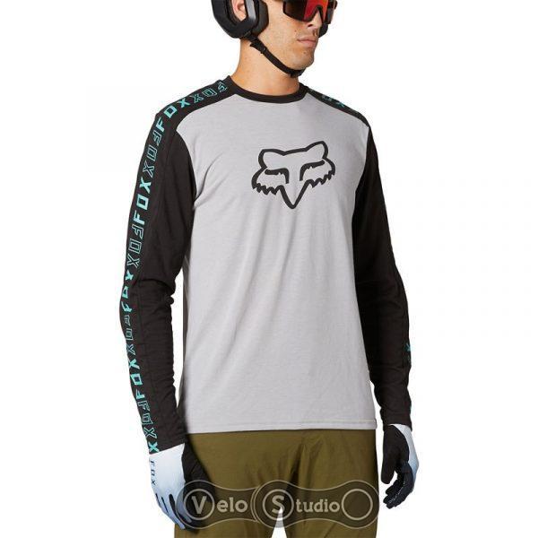 Джерси FOX Ranger Drirelease LS Jersey Steel Gray M