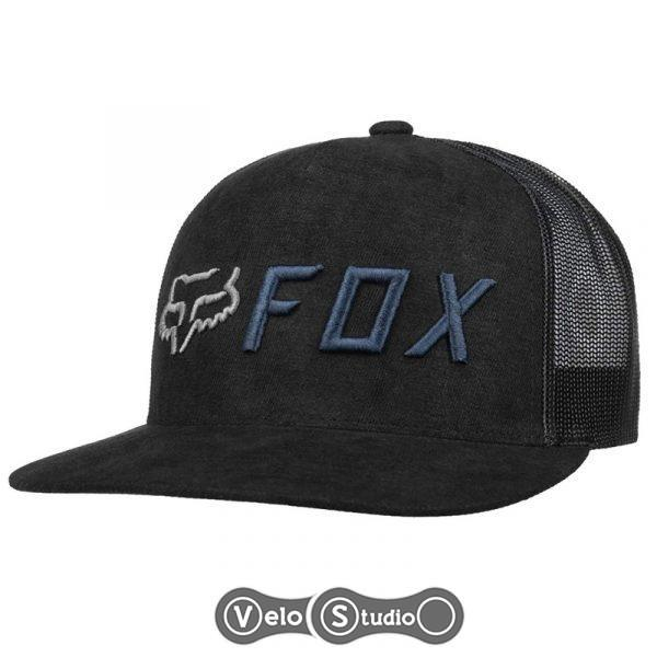 Кепка FOX Apex Snapback HAT Black/Blue OS