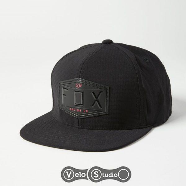Кепка FOX Emblem Snapback Hat Black OS