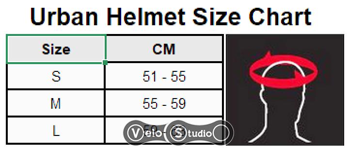 Размерная сетка шлема Leatt MTB 1.0 Urban V21.2