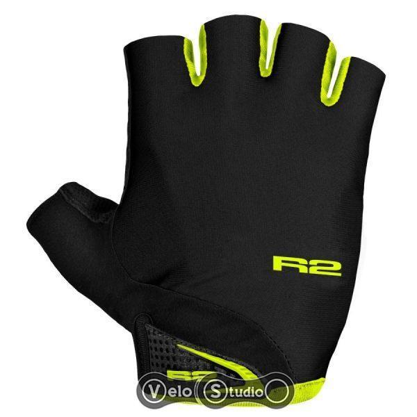 Перчатки R2 Riley черно-неоново-желтые XL