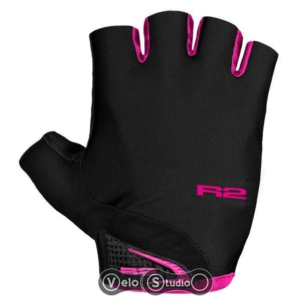 Перчатки R2 Riley черно-розовые M
