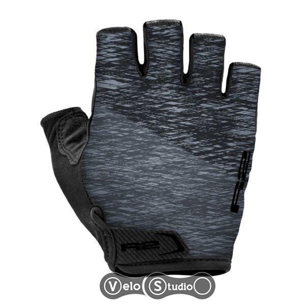Перчатки R2 Spike черный-серый M