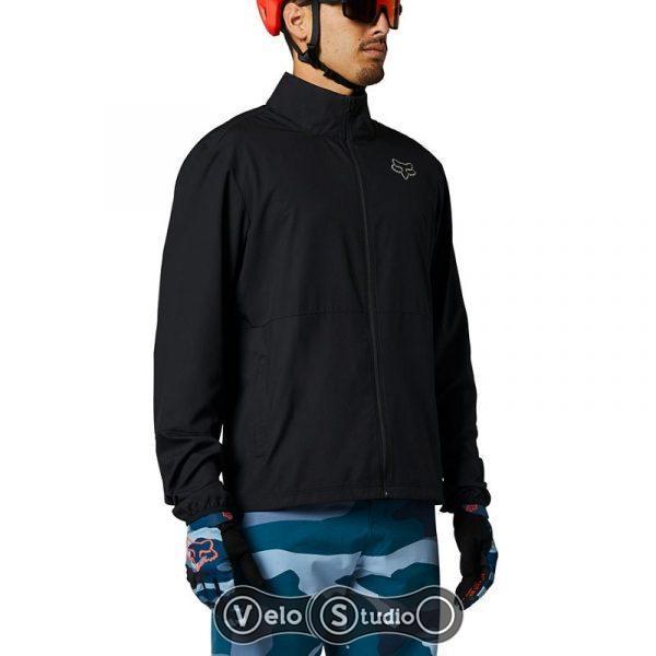 Вело куртка FOX Ranger Wind Jacket Black размер L