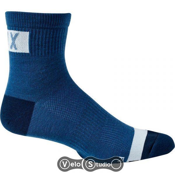 Вело носки FOX 4 Flexair Merino Sock Blue S/M