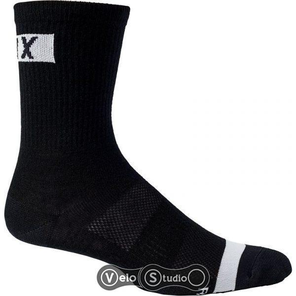 Вело носки FOX 6 Flexair Merino Sock Black L/XL