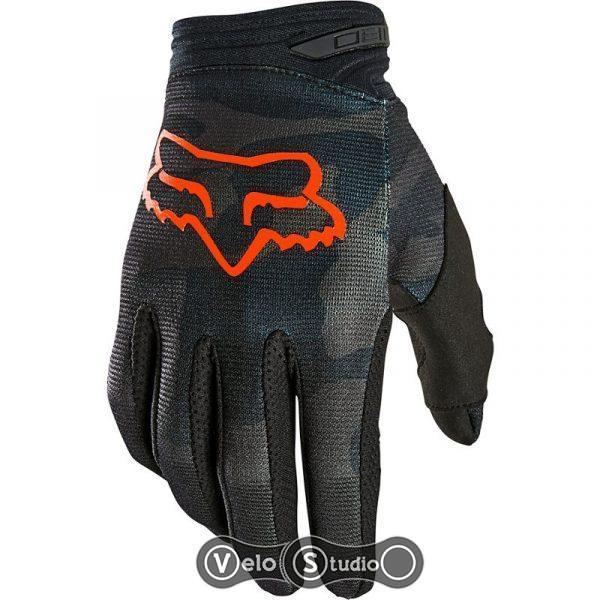 Вело перчатки FOX 180 TREV Glove Black Camo размер M