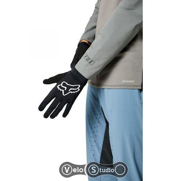 Вело перчатки FOX Flexair Black размер M