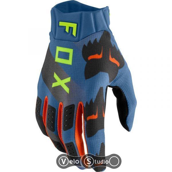 Вело перчатки FOX Flexair Mawlr Dusty Blue L