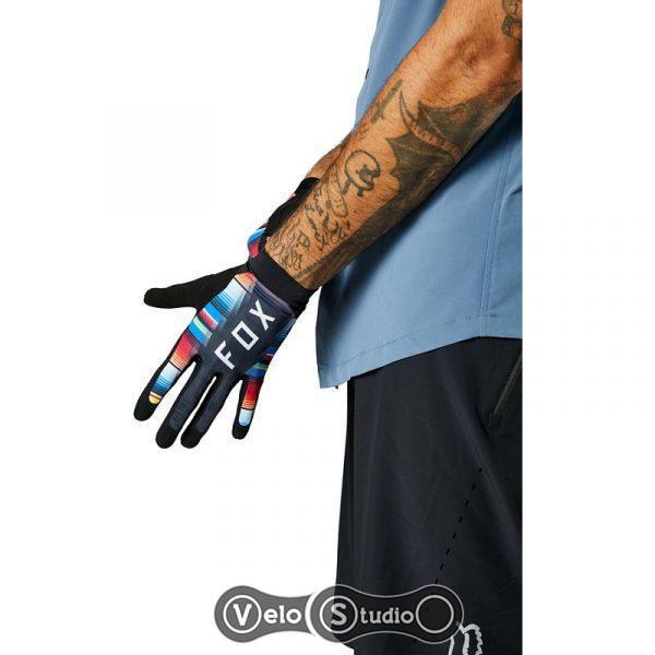Вело перчатки FOX Flexair цветные XXL