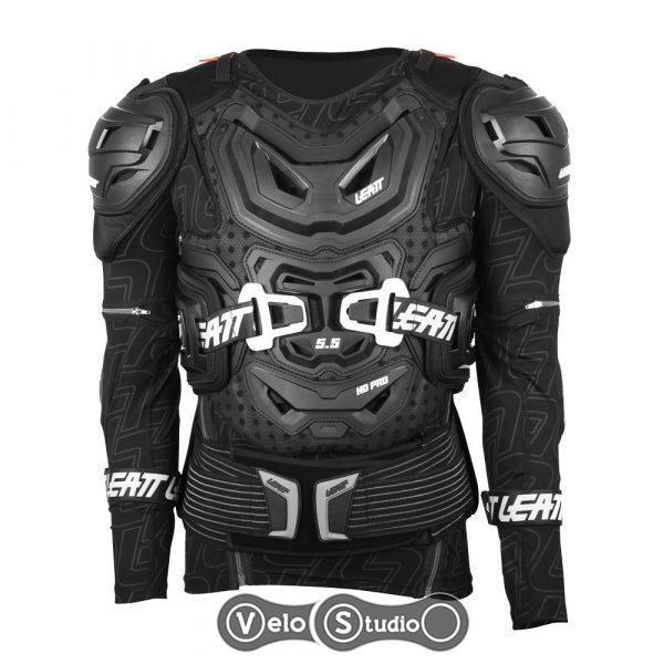 Защита тела LEATT Body Protector 5.5 Black L/XL