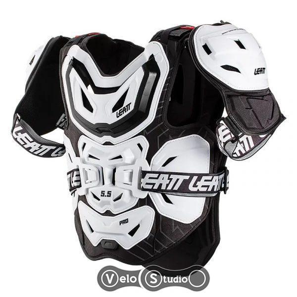 Защита тела LEATT Chest Protector 5.5 Pro White