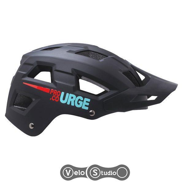 Шлем Urge Venturo MTB матовый чёрный