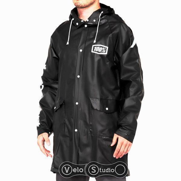 Вело куртка - дождевик Ride 100% Torrent Raincoat Black