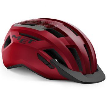 Вело шлем MET Allroad Red Black M (56-58 см)
