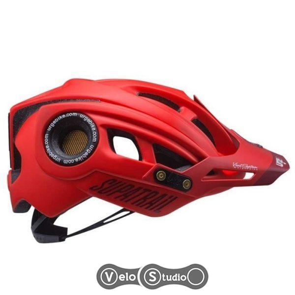 Вело шлем Urge Supatrail RH красный