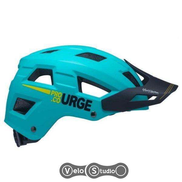 Вело шлем Urge Venturo MTB бирюзовый