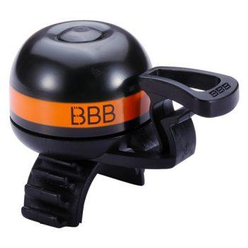 Звонок BBB BBB-14 EasyFit Deluxe черно оранжевый