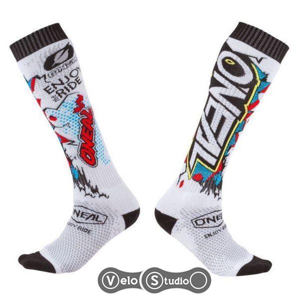 Носки ONeal Pro MX Sock Villain White