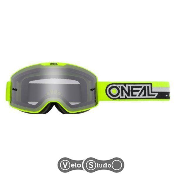 Очки-маска ONEAL B-20 Goggle Proxy Neon Yellow