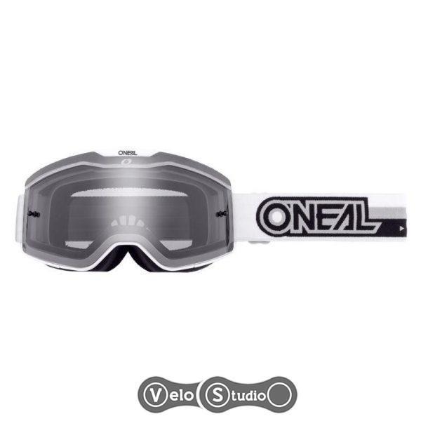Очки-маска ONEAL B-20 Goggle Proxy White Black