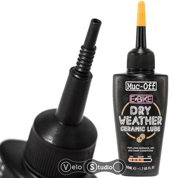 Смазка для цепи Muc-Off eBike DRY Chain Lube 50 ml