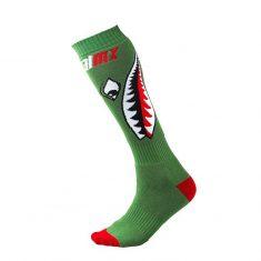 Женские носки ONeal Pro MX Sock Bomber Green