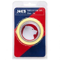 Бескамерная лента Joe's Tubeless Yellow Rim Tape 25 мм