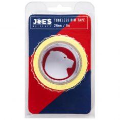 Бескамерная лента Joe's Tubeless Yellow Rim Tape 29 мм
