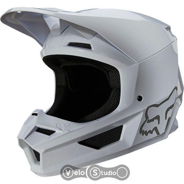 Мотошлем FOX V1 Mips Plaic Helmet White