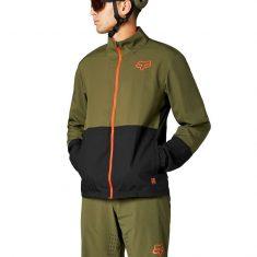 Вело куртка Fox Ranger Wind Jacket Olive Green размер M