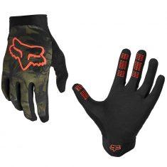 Вело перчатки Fox Flexair Ascent Olive Green размер M