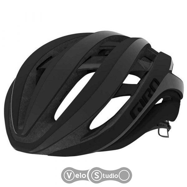 Вело шлем Giro Aether MIPS матовый черный