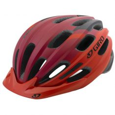 Вело шлем Giro Bronte матовый красный